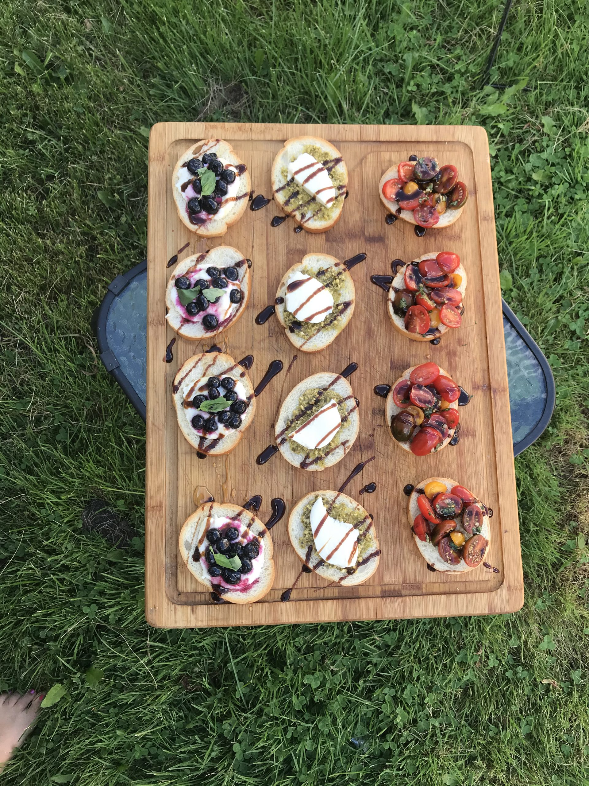 Summer Bruschetta: Three Ways
